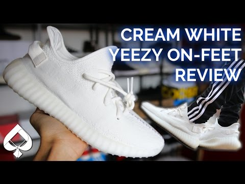 2079d6aebb5dc Adidas Cream White YEEZY BOOST 350 v2 Review