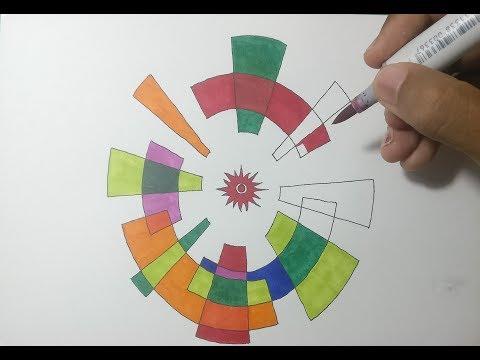 Menggambar Logo Asian Games