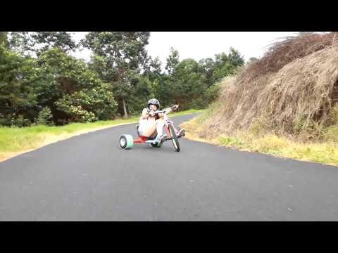 Drift Trike Mikki Jago Polipoli Maui