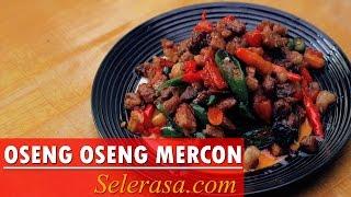Resep dan Cara Membuat Masakan Oseng Oseng Daging Sapi Mercon (Indonesia Recipe)