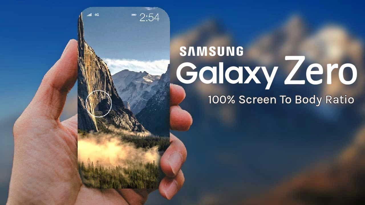 Samsung Galaxy Zero A Full Screen Smartphone From Samsung Youtube