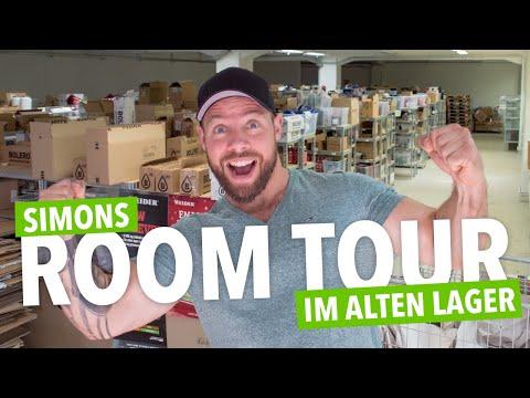 😎 Meine LETZTE Room Tour Im Muskelmacher Shop!