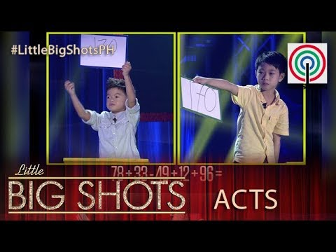 Little Big Shots Philippines: Pepe and Heinz | Arithmetic Duo