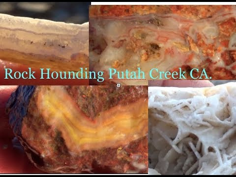 Jasper, Agate, Mineral Hunt Feb 2019  Putah Creek Quest 4 Treasure # 275   By : Quest For Details