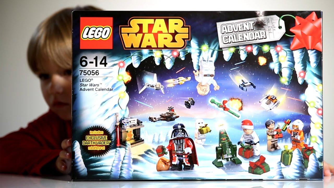 Lego Star Wars Advent Calendar 2014 - YouTube