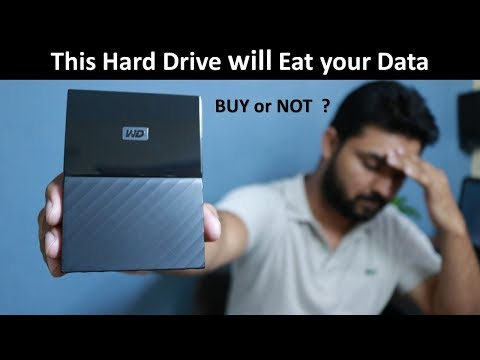 Western Digital 4TB Hard Drive. Unboxing and Review of WD My passport Ultra in Hindi.