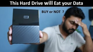 Western Digital 4TB Hard Drive Unboxing and Review of WD My passport Ultra in Hindi