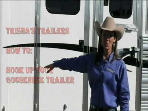 hooking up gooseneck horse trailer +- towing basics towing definitions moving and horse trailers gooseneck trailer assembly that fits into the receiver opening and hook up brackets.