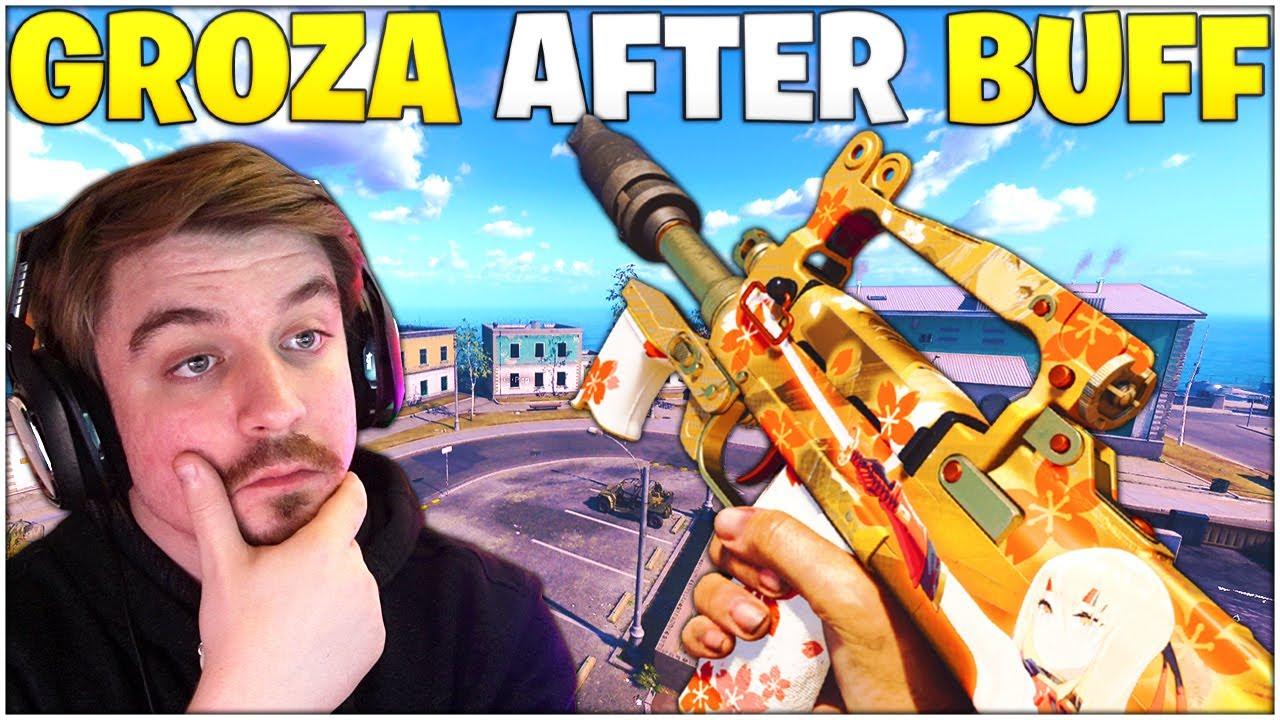 Download The BUFFED Groza On Alcatraz - Is It Any Good Now? *Best GROZA Setup* (Rebirth Island - Warzone)