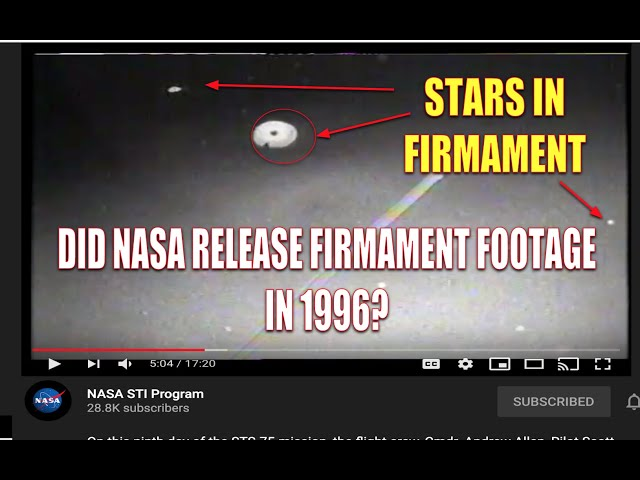 NASA ACCIDENTALLY RELEASED THIS FOOTAGE LIVE IN 1996? THIS IS A GAME CHANGER!