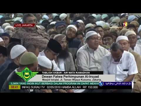 Tabligh Akbar Air Mata Ramadhan - Dewan Fatwa Perhimpunan Al-Irsyad