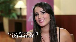 Karen Marroquín se presentó ante los jueces en Los Angeles para Nuestra Belleza Latina 2015