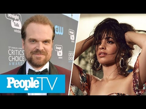 David Harbour Wants To 'Protect' Millie Bobby Brown, Camila Cabello's Album Reactions | PeopleTV