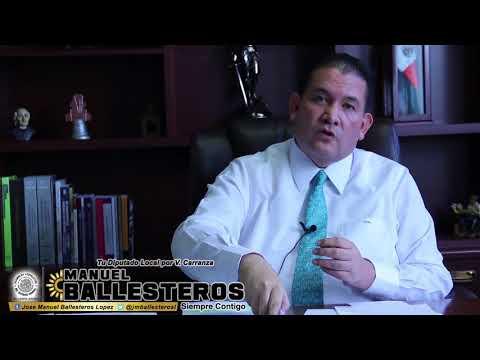 Mensaje del Dip. Manuel Ballesteros