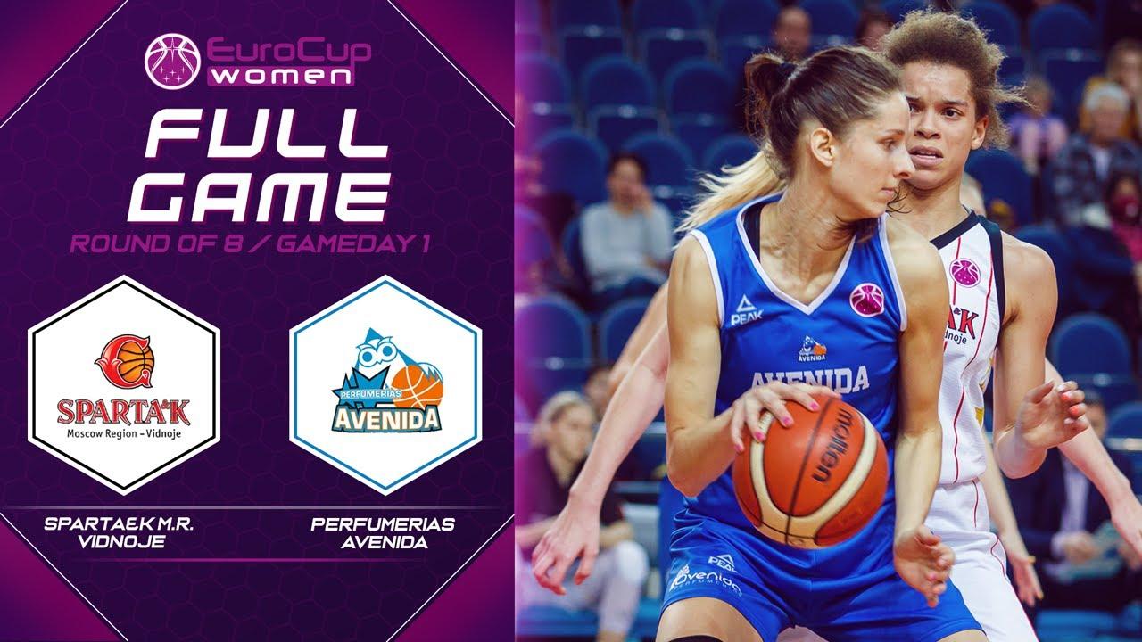Sparta&k M.R. Vidnoje v Perfumerias Avenida - Full Game - EuroCup Women 2019