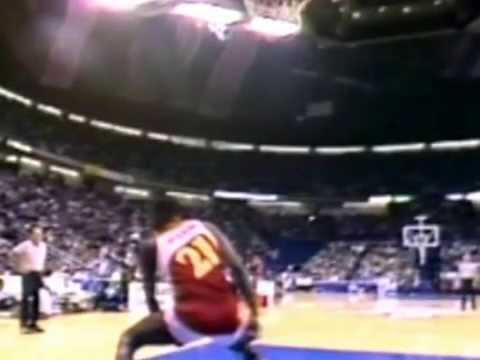 Dominique Wilkins One Handed Windmill Dunk 1986