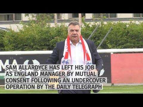 Sam Allardyce Leaves Job As England Manager Following Telegraph Sting