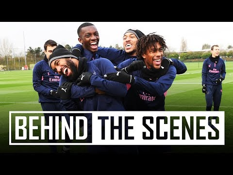 All about the rondo   Behind the scenes at Arsenal training centre