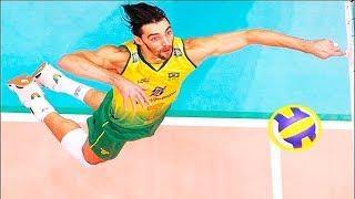 【バレーボール】なんてこった!?ブラジル代表スパイカー、ジバが強すぎる!!【衝撃】Brazil national spiker【volleyball】