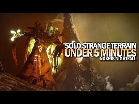 Solo Strange Terrain in Under 5 Minutes (Nokris Nightfall) [Destiny 2]