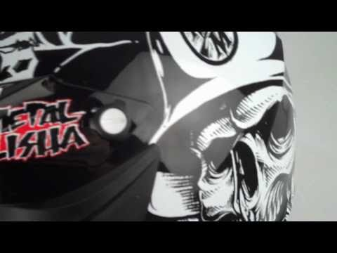 MSR Velocity Metal Mulisha Helmet at BustersDirtShop.com