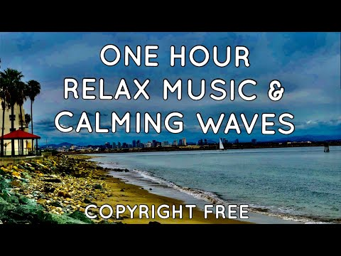 1-hr-relax-music-with-calming-waves-|-all-songs-by-ikson-|-therapeutic-sleep-music