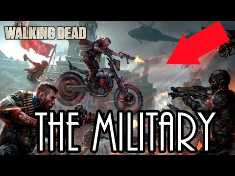 DESVELADO THE MILITARY  EL ORIGEN THE WALKING DEAD LA ÚLTIMA COMUNIDAD