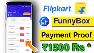 Funny Box App Payment Proof || Flipkart Free Gift Card Earning App || 🔴 Live Payment Proof 🎉 screenshot 5