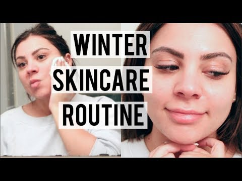 Winter Skincare Routine + How I Remove Makeup With Eyelash Extensions