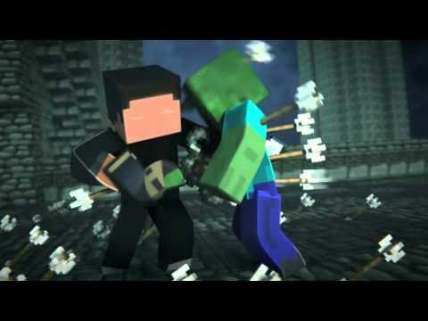 "Minecraft 3D ""Epic Fight"" [AMV]"