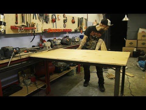 Мебель для гаража своими руками и фото самодельных верстака, стеллажа и тумбочки для инструментов