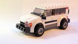 LEGO MOC Tutorial: How to build simple LEGO 4x4 SUV