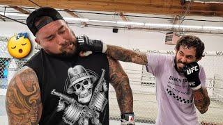 SPARING UFC FIGHTER CHITO VERA WAS A BAD IDEA...