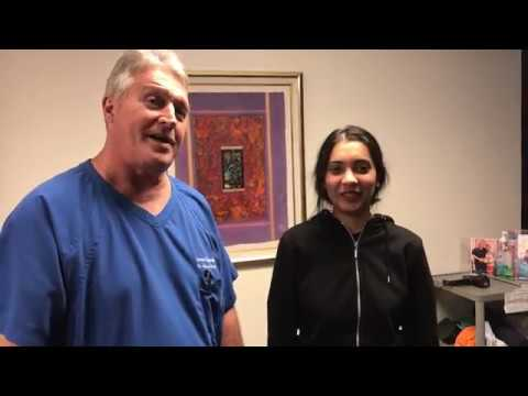 How Do You Spell Relief? CRACK! Houston Chiropractor Dr Gregory Johnson Adjust Manchester Lady