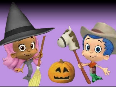 Bubble Guppies: HALLOWEEN PARTY! - YouTube