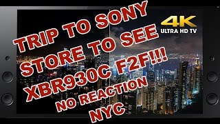 Sony 65X930C 4K Smart TV Motionflow