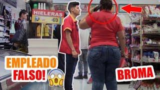 EMPLEADO FALSO DEL OXXO!!! |RENUNCIO|RobertGucciTv