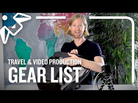 Travel Gear 2019 (Including Video Gear!)