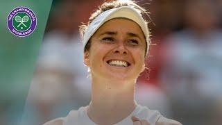 Elena Svitolina vs Karolina Muchova Wimbledon 2019 quarter-finals highlights