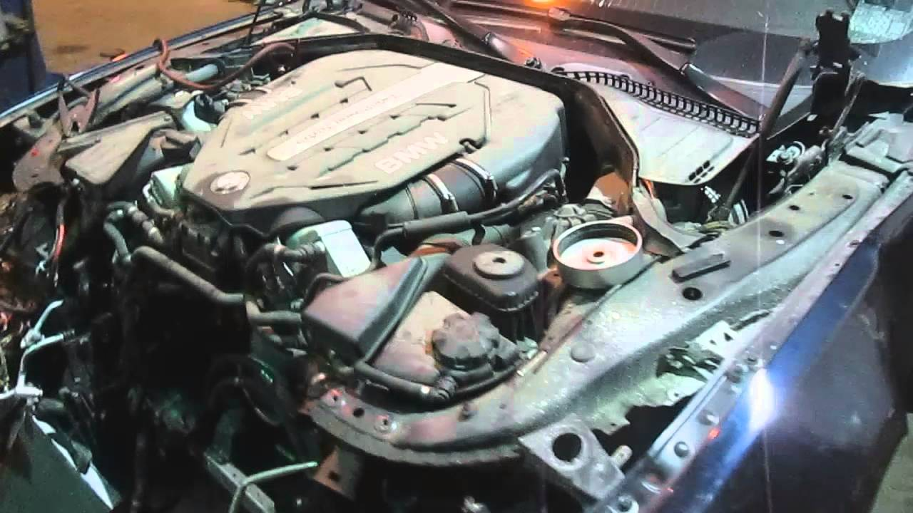 medium resolution of 2012 bmw 750i 4 4l n63 v8 twin turbo engine test 151008 v8 engine internal diagram