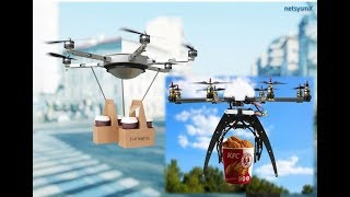 Cover images #Starbucks y #KFC entregan sus productos através de #drones en China→ netsysmX