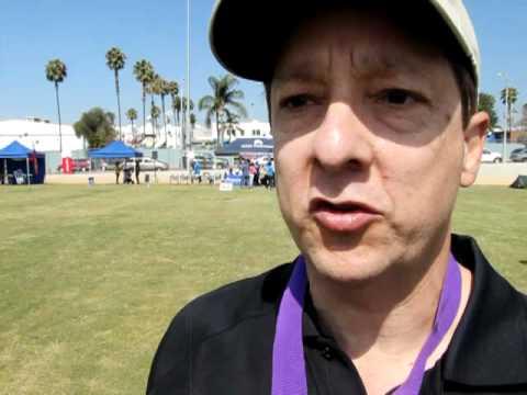 Alex Gentleman, Santa Monica, CA, Cancer Survivor At ACS Relay For Life Event