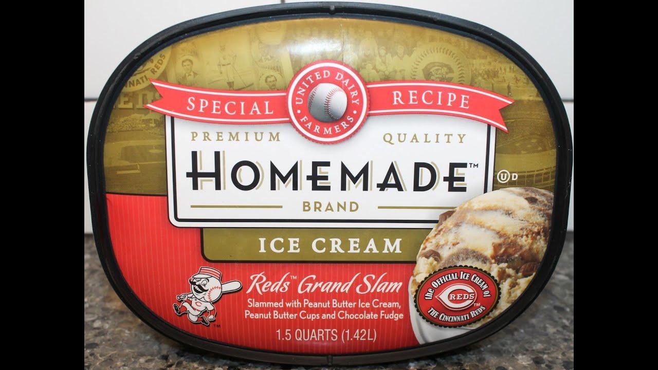 Homemade Brand Ice Cream: Reds Grand Slam Review