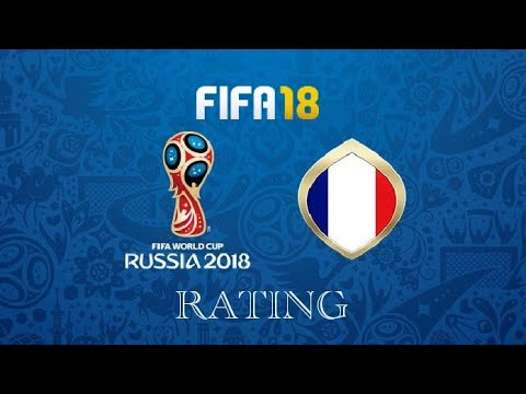 FIFA 18 Media De Los Jugadores De Francia (DLC) Mundial Rusia 2018