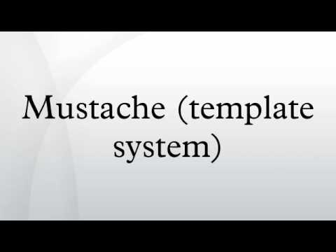 mustache template system youtube