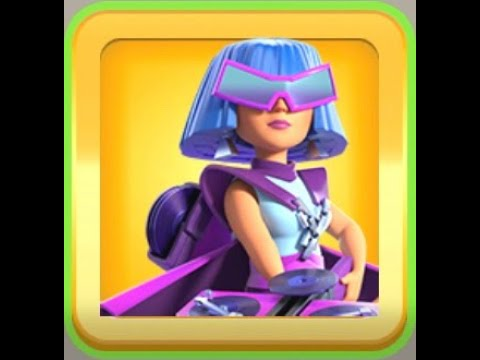 Party Queen Skin Animaion | Archer Queen | Clash of Clans (No Commentary)