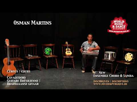 New : Samba & Choro ensemble | Osman Martins