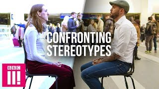 Confronting Stereotypes: Eye To Eye With A Stranger