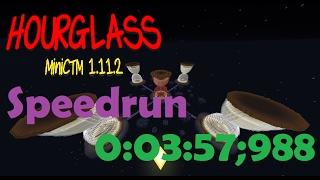 Minecraft Speedrun: HOURGLASS (0:03:57;988) [WR]