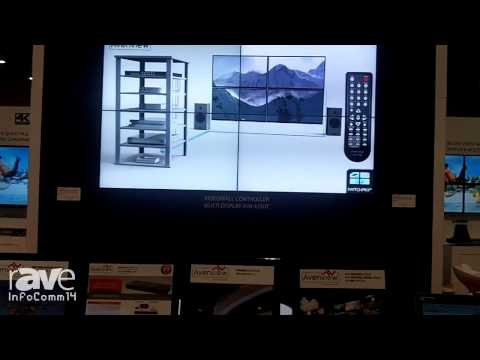 InfoComm 2014: Avenview Shows off the Modular Video Wall Matrix Switch, Over IP